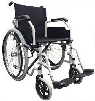 Fauteuil roulant pliable robust