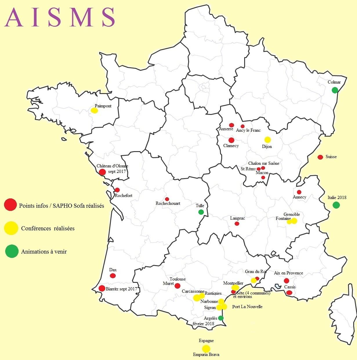 France regions departements 2019
